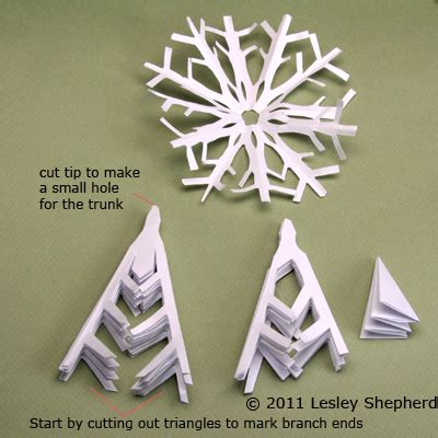 snowflake pattern to sew use paper snowflakes to make snowy winter trees paper