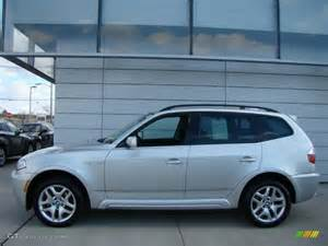 Bmw X3 2008 Titanium Silver Metallic 2008 Bmw X3 3 0si Exterior Photo