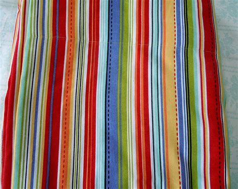 Handmade Fabric - handmade fabric shower curtain rainbow colors by poppydoodlez