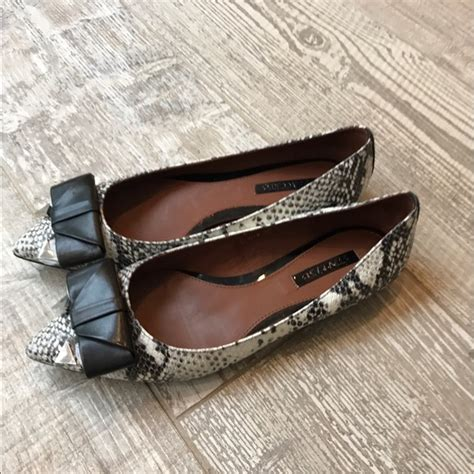 Flat Shoes Staccato 15 70 staccato shoes staccato leather with snake print