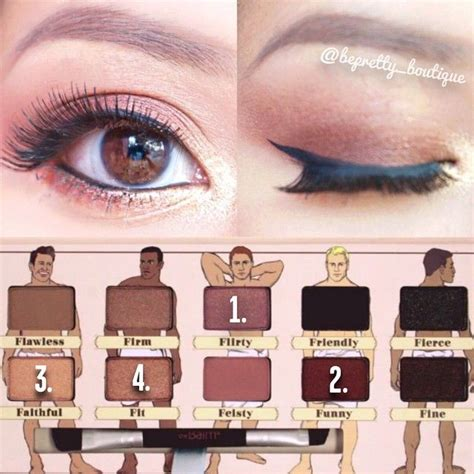 The Balm Apple 3 Dude Eyeshadow 18 best images about dude palette tutorials on purple smokey eye and