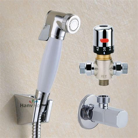 toilet ceramic bidet sprayer kit handset  thermostatic