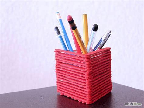 Cara Membuat Tempat Pensil Dari Stik Es Krim Bisnis Borneo | 2 cara membuat tempat pensil dari stik es krim