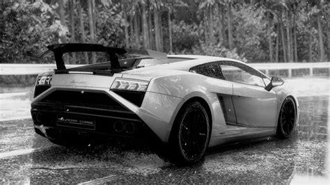 Black And White Lamborghini Black And White Lamborghini Auto Datz
