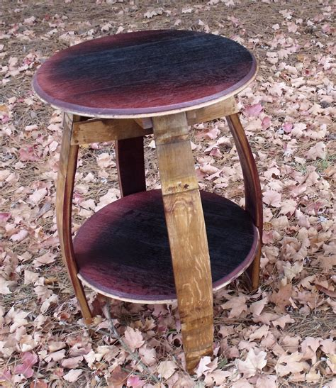 wood barrel table wood barrel end table loccie better homes gardens ideas