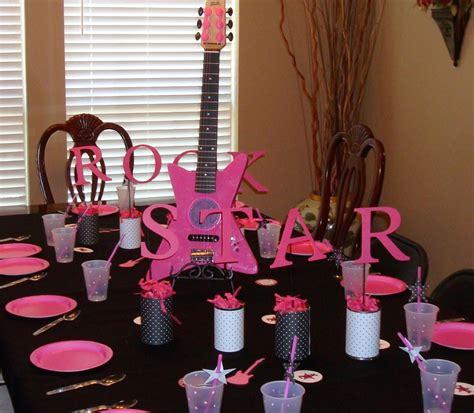 imagenes fiesta rockera decoraci 243 n de fiestas de rock star estrella de rock