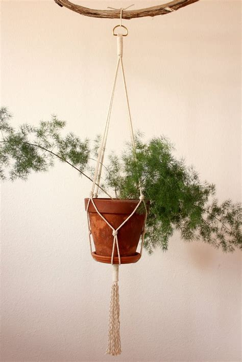 How To Make A Plant Hanger With Rope - 17 best images about macrame on macrame wall