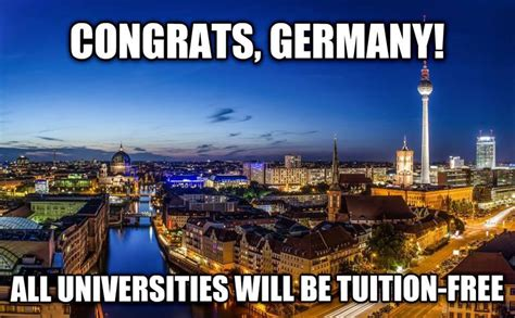 Tuition Free Mba In Germany In germany eliminated tuition while americans are drowning