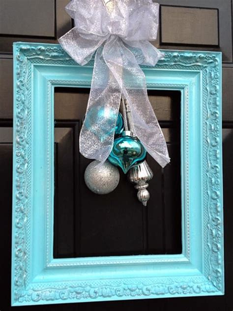 1000 ideas about picture frame wreath on pinterest