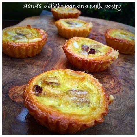 Cetakan Banana Milk Crispy banana milk pastry dona s delight