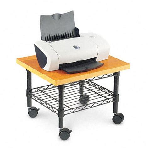Alera Under Desk Printer Stand With Wire Shelving Desk Printer Stands