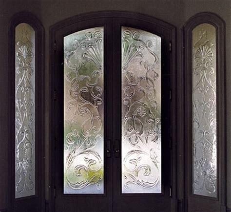 Decorative Glass Inserts For Cabinet Doors - concepts in glass custom door inserts decorative glass