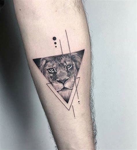 small triangle tattoo triangles lines dots overlapping triangles