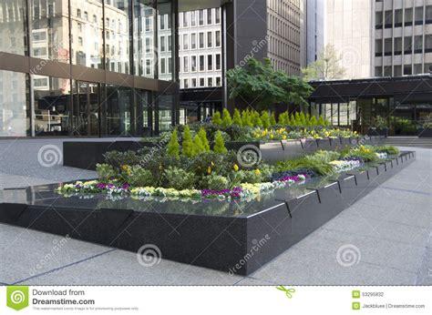 Garden Of Headquarters Office Building Front Garden Stock Photo Image 53295832