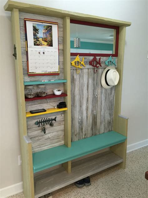 entryway bench with mirror and hooks entryway tree with mirror calendar phone charging