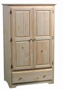 pine shaker wardrobe unfinished furniture unfinished