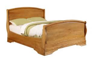 chateau oak king size bed