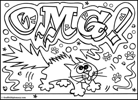 graffiti coloring pages online get this online graffiti coloring pages 13228