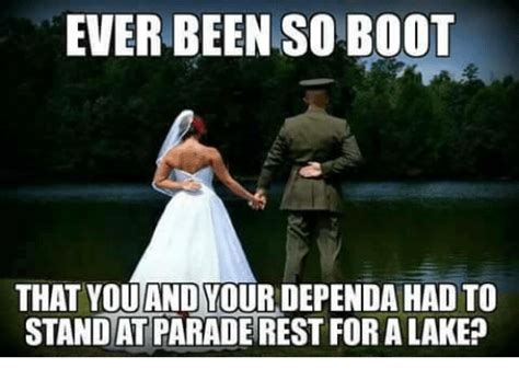 Parade Meme - ever been so boot that you and vour dependa had to standat