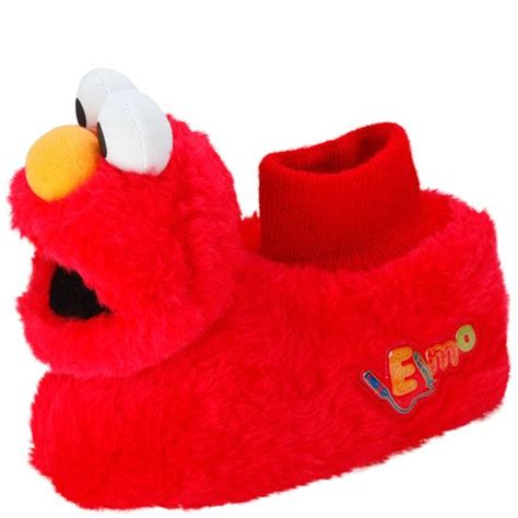 elmo slippers get tickled with these adorable elmo slippers