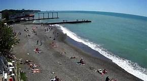 """Результат поиска изображений по запросу """"Джемете Веб камера онлайн пляж море"""". Размер: 290 х 160. Источник: youwebcams.net"""