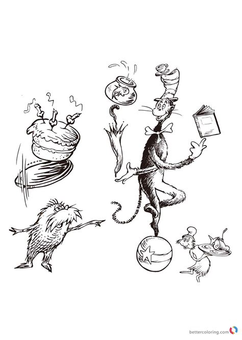 happy birthday dr seuss coloring page dr seuss coloring pages happy birthday card free