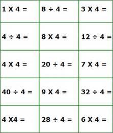 multiplication math worksheets for 3rd grade students
