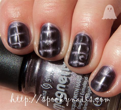China Glaze Get Charged china glaze magnetix ii get charged spooky nails