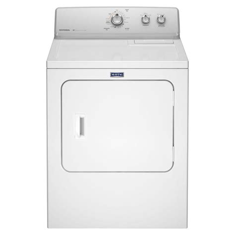 maytag 7 0 cu ft gas dryer in white mgdc215ew the home