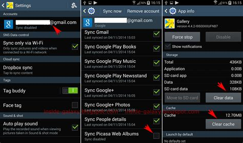 picasa for android samsung galaxy s4 how to fix can t remove picasa album