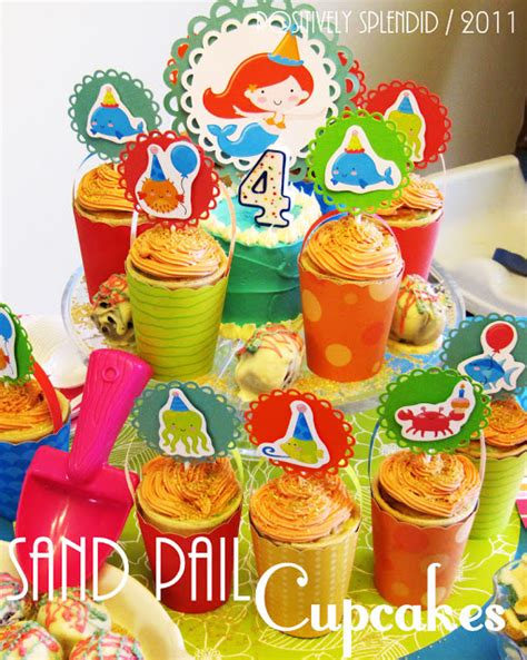 Cupcake Topper New Year Season S Greetings Bulat 5 Cm Topper Cup Cake sand pail cupcakes cupcake topper tutorial positively splendid crafts sewing recipes and