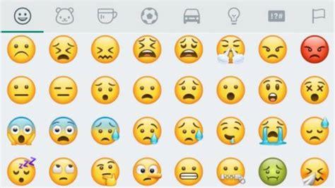 imagenes wasap caras whatsapp whatsapp redise 241 a todos los emojis para android