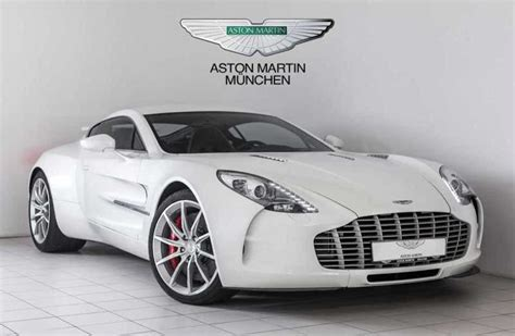 one for sale an aston martin one 77 can be yours for 3 35 million