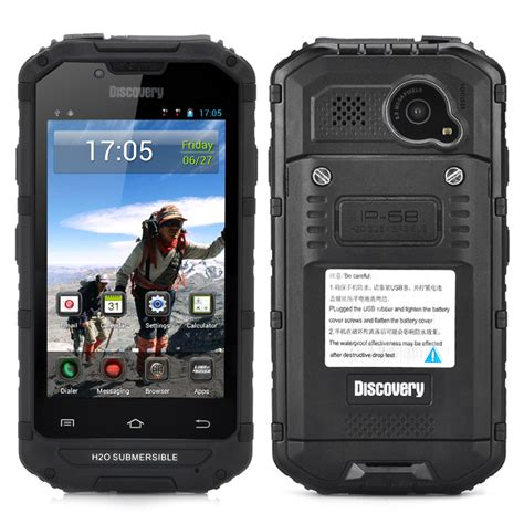 rugged android phone 4 inch rugged android smartphone cdma 3g ip68 waterproof dust proof 8mp rear black