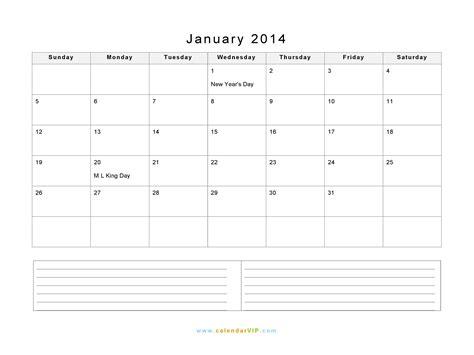 january 2014 calendar blank printable calendar template