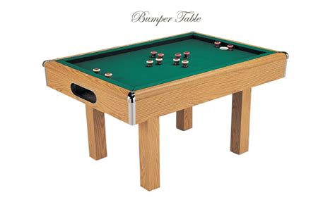 bumper tables ping pong pool tables