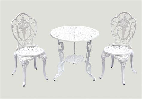 biscayne cast aluminum patio furniture jdm 3pc design white bronze biscayne cast aluminum patio furniture jdm supply garden