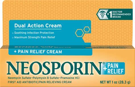 neosporin on wounds relief neosporin 174