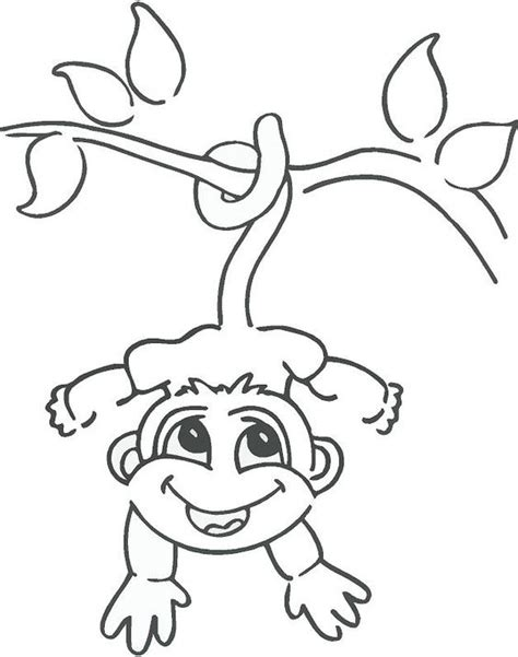 how to draw new year monkey trees drawings and monkey drawing on