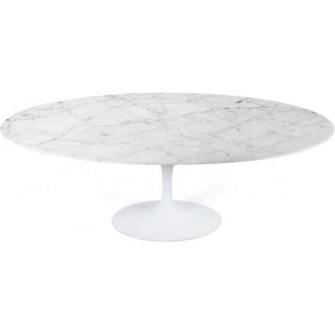 oval 72 quot eero saarinen buy marble oval tulip style dining table from fusion living