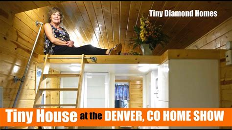 big bathroom in this tiny house at the denver home show