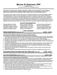 Packaging Engineer Sle Resume by Innovation Engineer Resume Search Resumes
