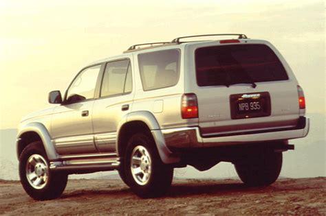 96 toyota 4runner sr5 1996 02 toyota 4runner consumer guide auto