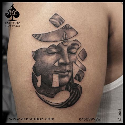 lord tattoo designs lord shiva in tibetan om ace tattooz