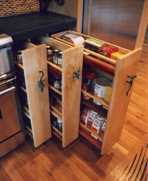 56 Useful Kitchen Storage Ideas Digsdigs Kitchen Cabinets Storage Ideas