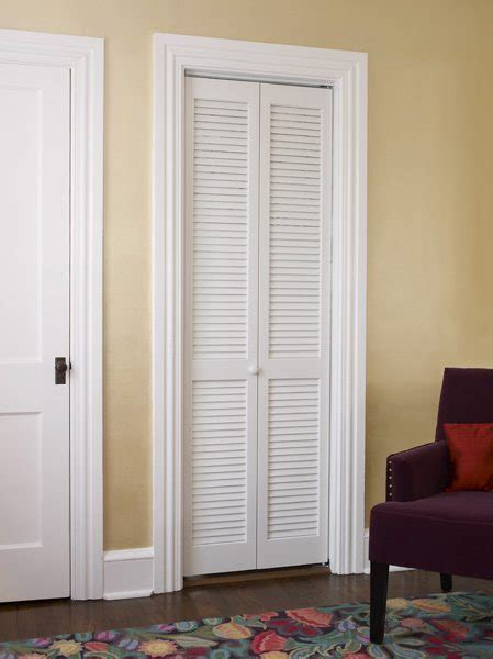 White Shutter Closet Doors Louver Closet Door