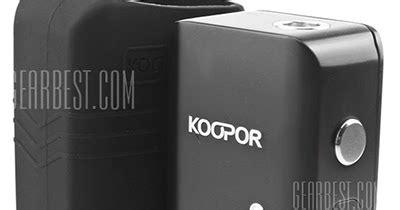 Tc Vooc Flash Charger Mini Murah vapor joes daily vaping deals flash smoktech koopor mini 60w tc mod 28 98