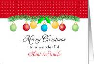 christmas cards  aunt uncle  greeting card universe