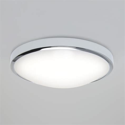 astro 0387 osaka 1 light flush ceiling light polished chrome