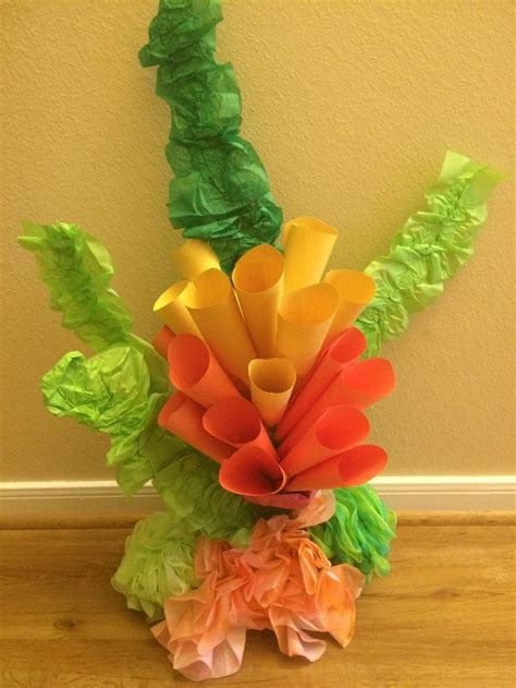 How To Make Coral Out Of Paper - 25 best ideas about coral reef craft on